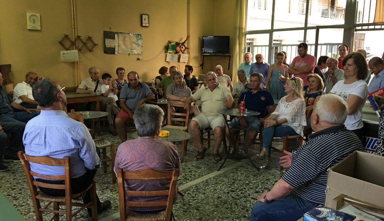 Φωτογραφίες από την Περιοδεία του Χρ. Σταϊκούρα στην Ανατολική Φθιώτιδα | 23.6.2019