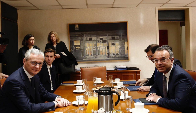 Συνάντηση Υπουργού Οικονομικών με τον Γάλλο ομόλογό του (video) | 25.2.2020