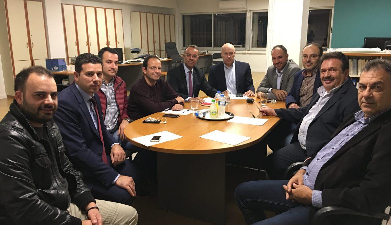 Με το Οικονομικό Επιμελητήριο Κεντρικής Στερεάς Ελλάδας συναντήθηκε ο Χρ. Σταϊκούρας   10.11.2018