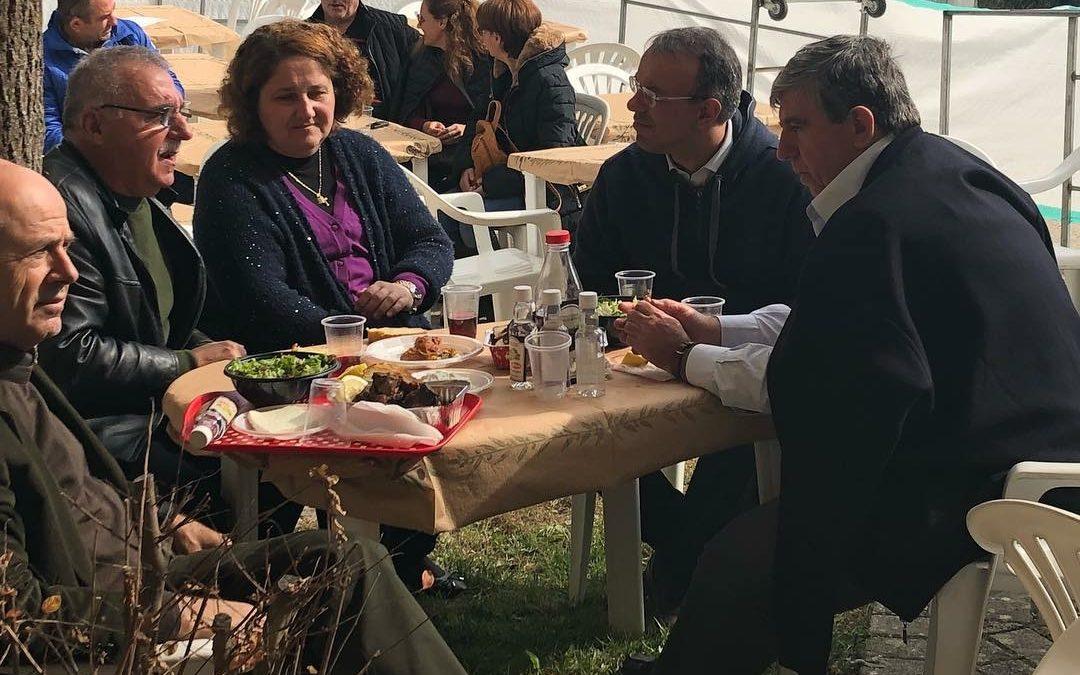 Ο Χρ. Σταϊκούρας στον Μπράλο (φωτογραφίες) | 11.11.2018