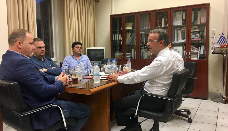 Συνάντηση Χρ. Σταϊκούρα με ΕΒΕ Φθιώτιδας και ΤΕΕ Ανατολικής Στερεάς | 2.11.2018