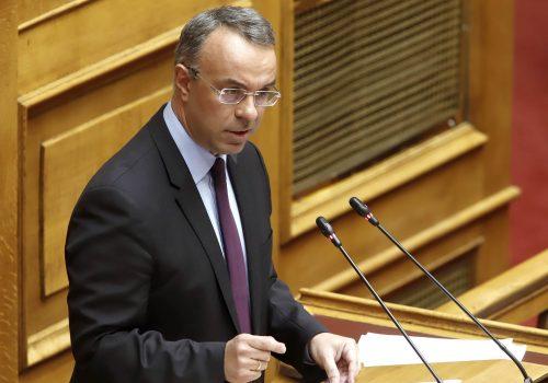 Ομιλία του Υπουργού Οικονομικών στην Ολομέλεια της Βουλής (video) | 12.2.2020