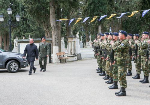 Ο Υπουργός Οικονομικών στο Μνημόσυνο για τους πεσόντες των Ενόπλων Δυνάμεων | 22.2.2020