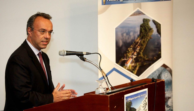 Ο Χρ. Σταϊκούρας στο 4ο Πανελλήνιο Συνέδριο Ιαματικής Ιατρικής στα Καμένα Βούρλα | 12.10.2018