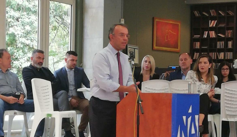 Ο Χρ. Σταϊκούρας Ομιλητής σε Πολιτική Εκδήλωση της ΝΟΔΕ Καρδίτσας (φωτογραφίες, video) | 14.10.2018