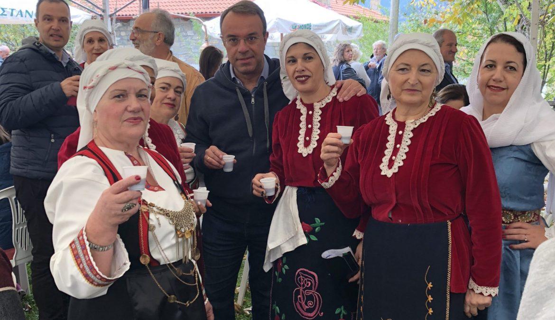 Ο Χρ. Σταϊκούρας στη Γιορτή Κάστανου στο Μαυρίλο | 21.10.2018