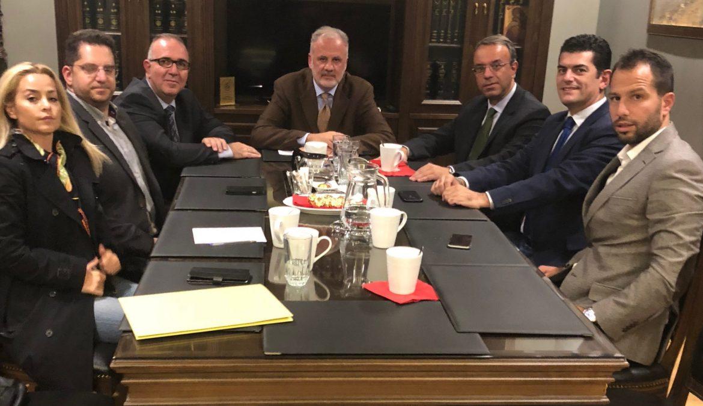Συνάντηση Χρ. Σταϊκούρα με τον Δικηγορικό Σύλλογο Λαμίας   26.10.2018
