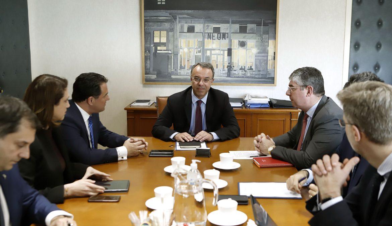 Σύσκεψη στο Υπουργείο Οικονομικών για το πρόβλημα του κορονοϊού | 3.3.2020