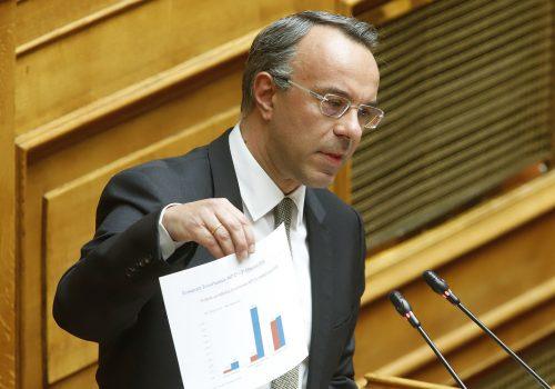 Ομιλία Υπουργού Οικονομικών στην Ολομέλεια (video, πίνακες) | 2.4.2020