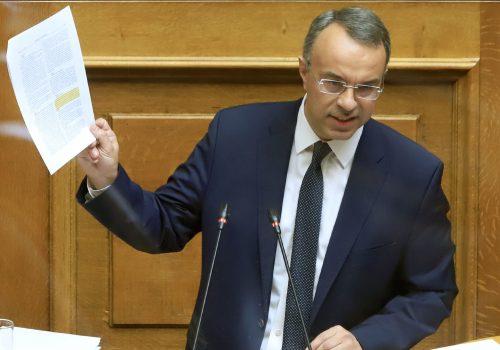Ομιλία του Υπουργού Οικονομικών στην Ολομέλεια της Βουλής (video, έγγραφα) | 24.4.2020