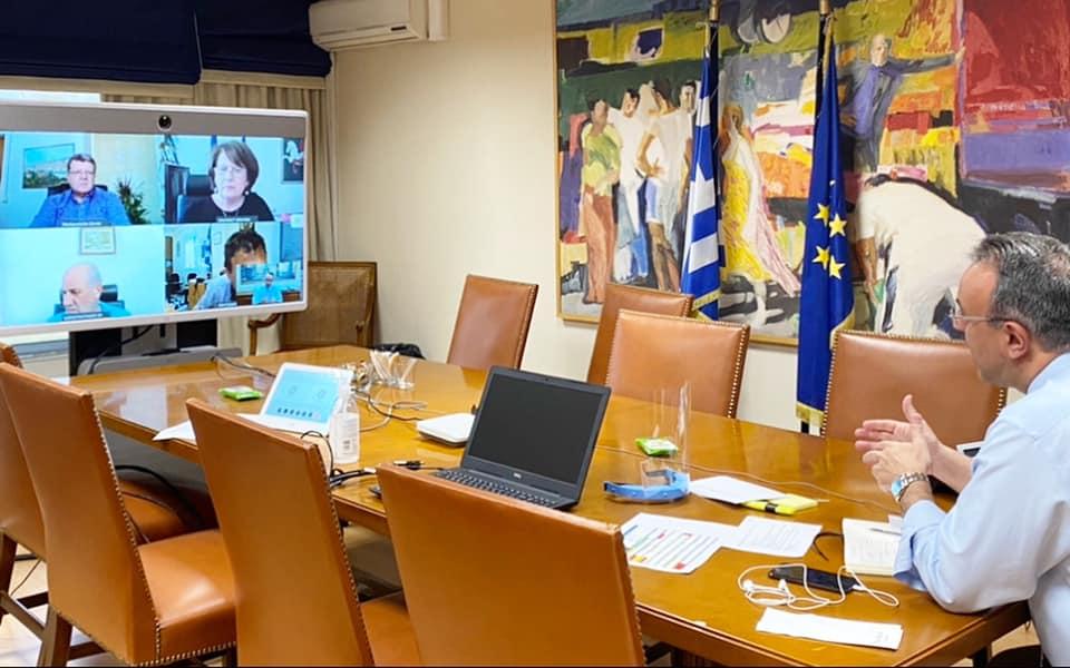 Τηλεδιάσκεψη Χρ. Σταϊκούρα με Φορείς της Εκπαίδευσης για τα ζητήματα του κορωνοϊού | 14.5.2020