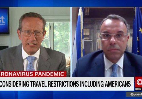 Ο Υπουργός Οικονομικών στο CNN international (video)   25.6.2020