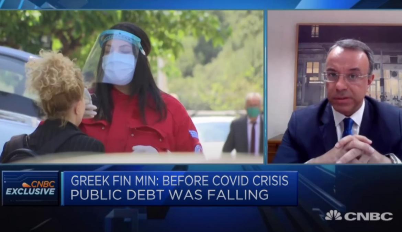 Ο Υπουργός Οικονομικών στο CNBC (video) | 2.6.2020
