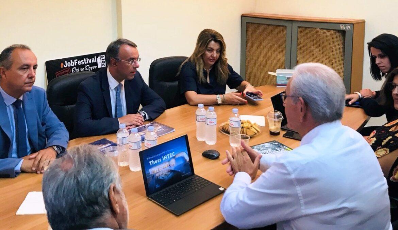 Ο Υπουργός Οικονομικών στη Θεσσαλονίκη (φωτογραφίες, video) | 24.7.2020