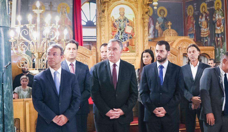Ο Υπουργός Οικονομικών στο Ετήσιο Μνημόσυνο του Μακαριστού Μητροπολίτη κυρού Νικολάου | 19.7.2020
