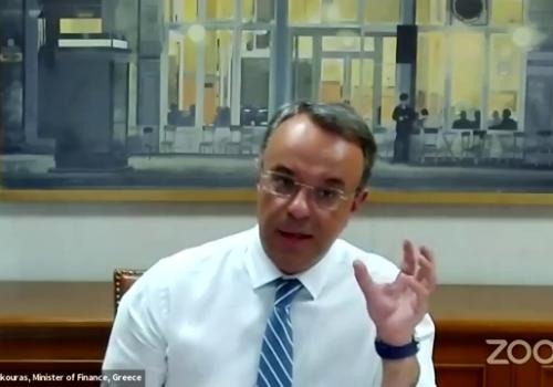 «H οικονομία στην Ελλάδα μετά τον κορωνοϊό» Τηλεδιάσκεψη Υπουργού Οικονομικών με Ahepa (video) | 23.7.2020