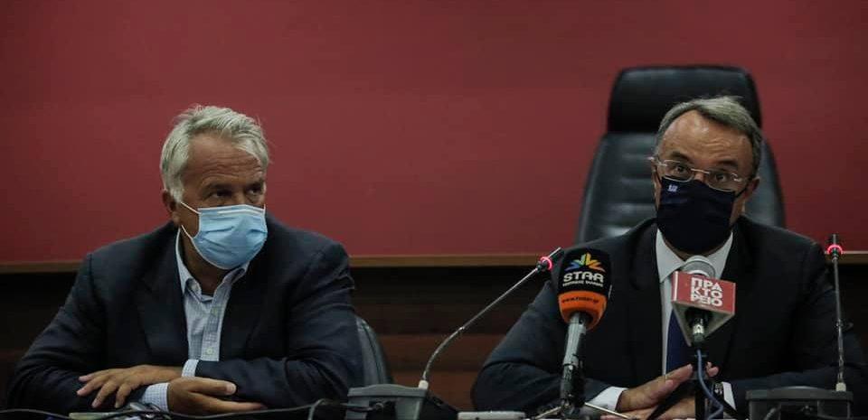 Μέτρα που έχουν υλοποιηθεί για την ανακούφιση των πληγέντων από τη φυσική καταστροφή στην Εύβοια (video)   25.8.2020