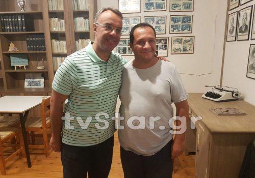 STAR Κεντρικής Ελλάδας: Στο Κουμαρίτσι ο Χρ. Σταϊκούρας (φωτογραφίες) | 13.8.2020