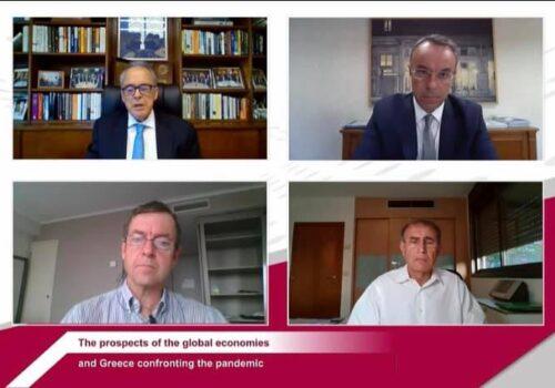 Ο ΥπΟικ Χρ. Σταϊκούρας στη Διαδικτυακή συζήτηση του Harvard Business School Club of Greece (video) | 24.9.2020