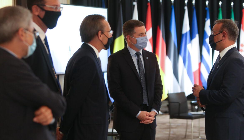 Στιγμιότυπα από τη Συμμετοχή του Υπουργού Οικονομικών στο Eurogroup και το Ecofin | 11.9.2020