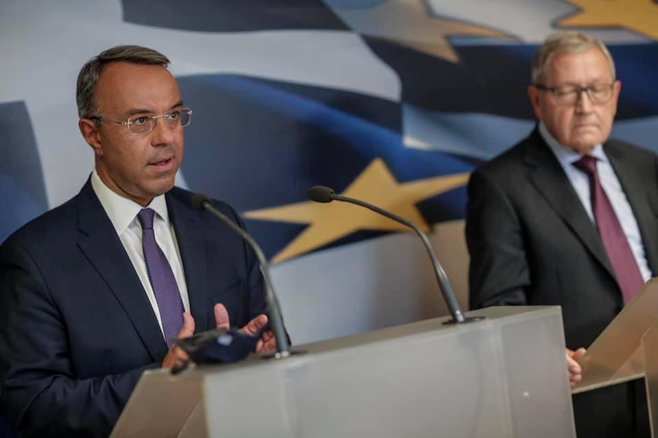 Τοποθέτηση του Υπουργού Οικονομικών μετά τη συνάντησή του με τον Εκτελεστικό Δ/ντή του ESM | 14.9.2020