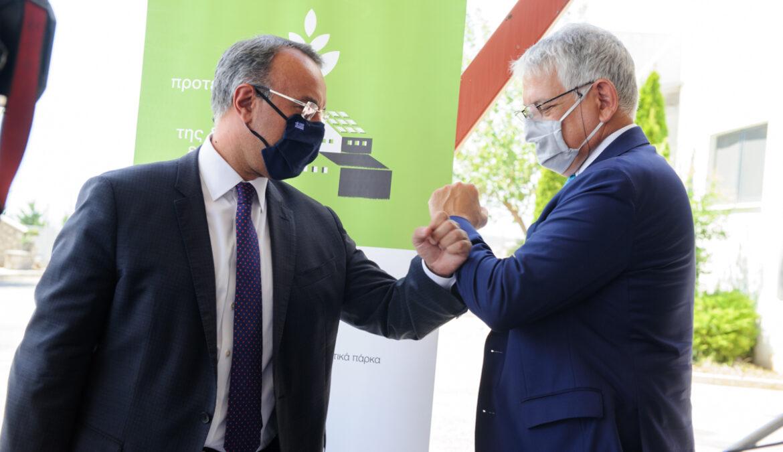 ΒΙΠΕ Λαμίας: η πρώτη στην Ελλάδα με έργα αναβάθμισης (video) | 3.9.2020