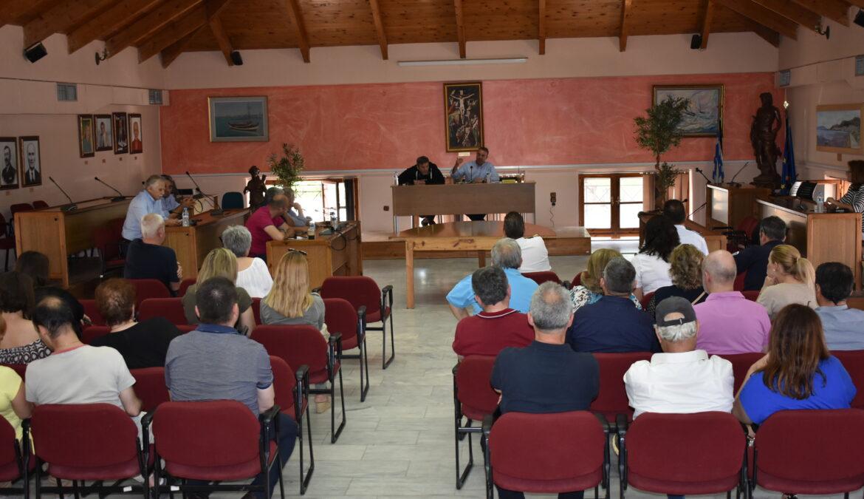 Σύσκεψη εργασίας στο Δήμο Στυλίδας | 25.5.2018