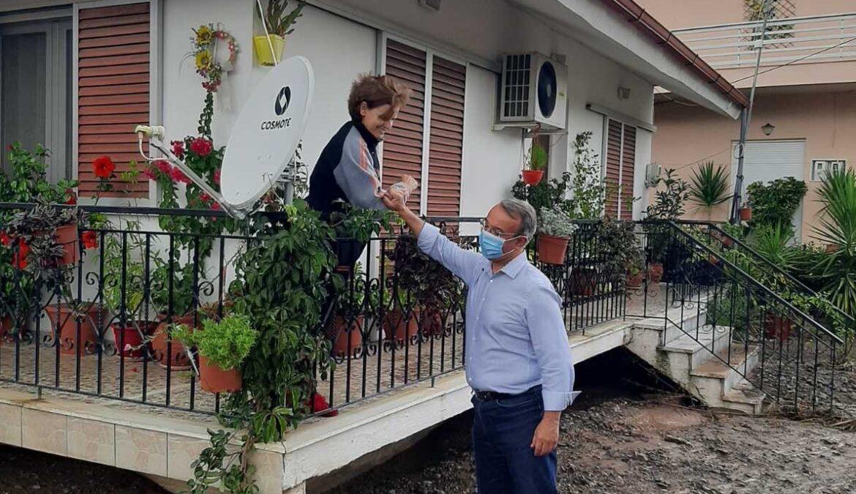 Φθιώτιδα: Στις πληγείσες περιοχές ο Υπουργός Οικονομικών (φωτογραφίες, video)
