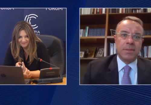 Ομιλία Υπουργού Οικονομικών στο Διεθνές Συνέδριο Olympia Forum I (video) | 19.9.2020