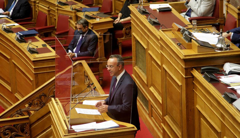 Πρόταση Μομφής: Η Ομιλία του Υπουργού Οικονομικών στην Ολομέλεια (video, έγγραφα) | 23.10.2020