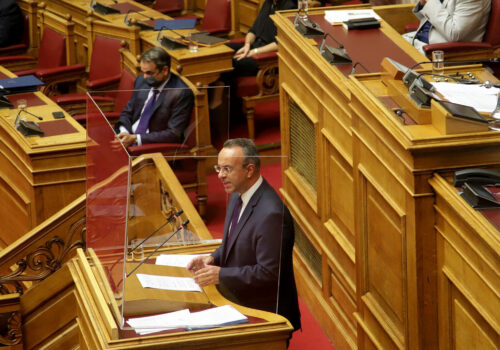 Πρόταση Μομφής: Η Ομιλία του Υπουργού Οικονομικών στην Ολομέλεια (video, έγγραφα)   23.10.2020