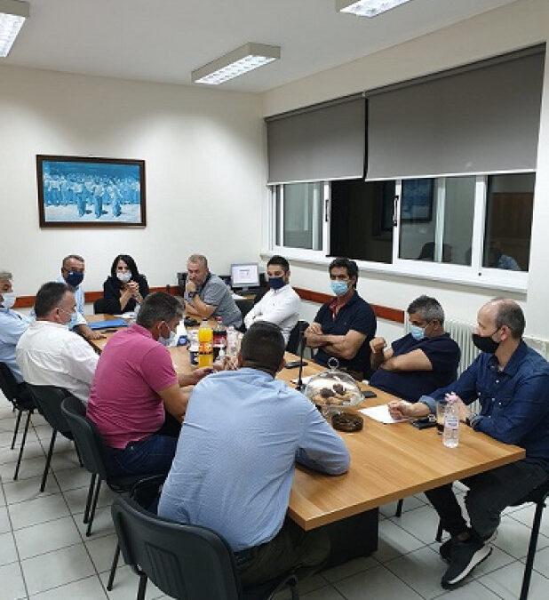 Ο Χρ. Σταϊκούρας στη Συνεδρίαση του Εργατικού Κέντρου Φθιώτιδας για τη Λάρκο | 16.10.2020