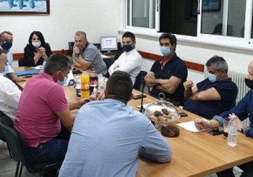 Ο Χρ. Σταϊκούρας στη Συνεδρίαση του Εργατικού Κέντρου Φθιώτιδας για τη Λάρκο   16.10.2020