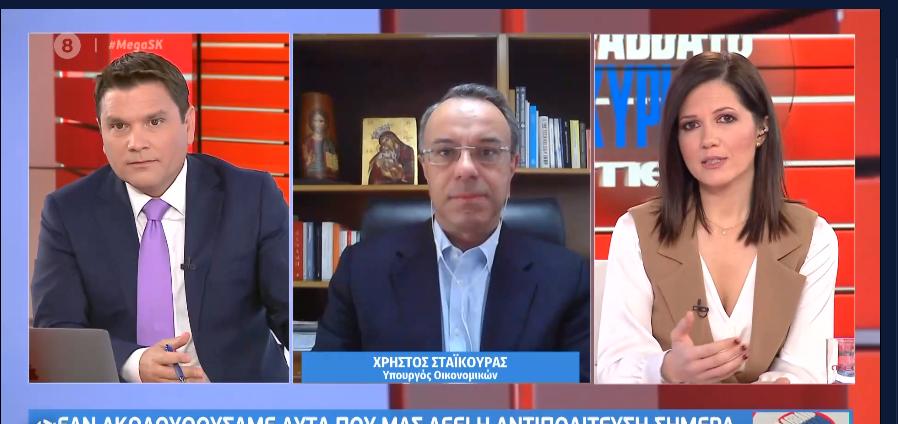 Ο Υπουργός Οικονομικών στο MEGA Σαββατοκύριακο (video) | 28.11.2020