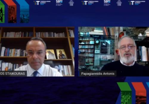 Ο Υπουργός Οικονομικών στο Thessaloniki Summit 2020 (video) | 5.11.2020