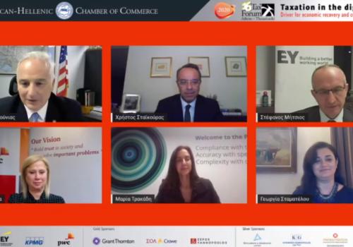 Ο Υπουργός Οικονομικών στο 16th Annual Tax Forum του Ελληνοαμερικανικού Επιμελητηρίου (video) | 19.11.2020
