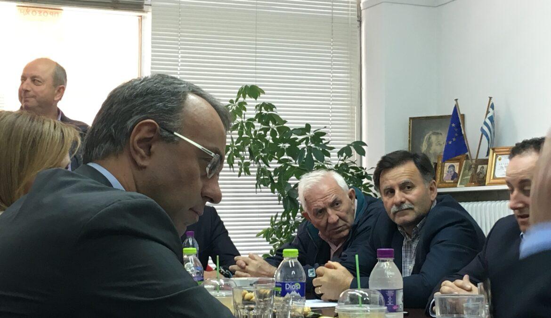 Χρ. Σταϊκούρας – Φ. Αραπατζή στη Λαμία   30.3.2018