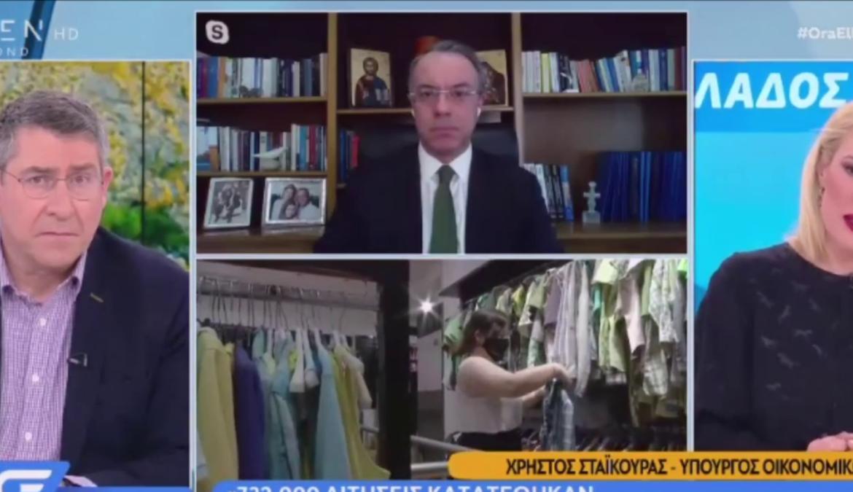 Ο Υπουργός Οικονομικών στην τηλεόραση του Open (video)   20.1.2021