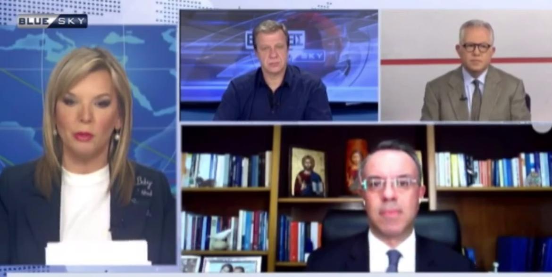 Ο Υπουργός Οικονομικών στην τηλεόραση του BLUE SKY (video) | 25.1.2021