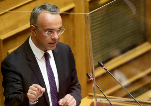 Ομιλία του Υπουργού Οικονομικών στην Ολομέλεια της Βουλής (video) | 11.3.2021