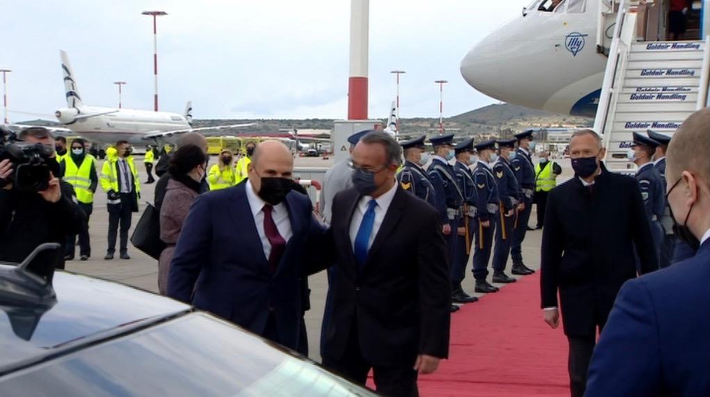 Στην Αθήνα ο Ρώσος Πρωθυπουργός – Τον υποδέχθηκε ο Υπουργός Οικονομικών | 24.3.2021