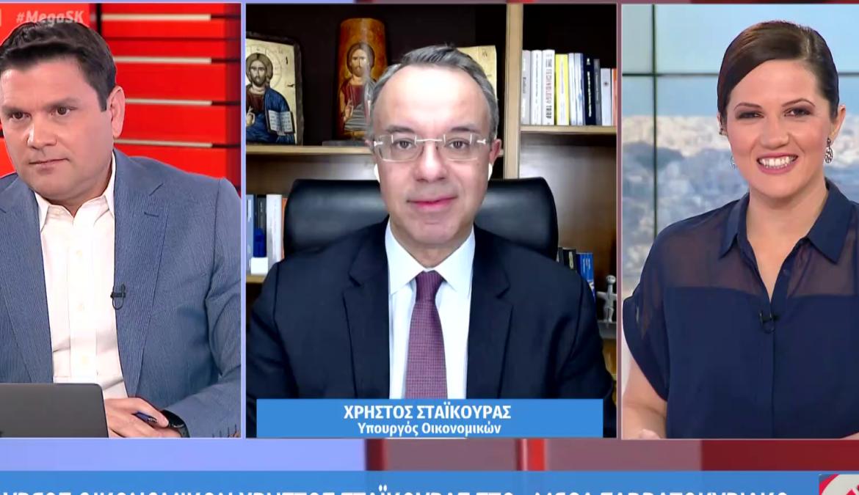 Ο Υπουργός Οικονομικών στο Mega Σαββατοκύριακο (video) | 14.3.2021