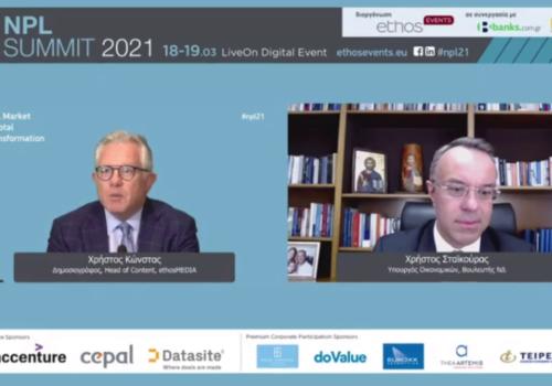 Ο Υπουργός Οικονομικών στο NPL Summit 2021 (video) | 18.3.2021