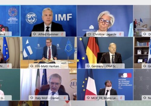 Ο Υπουργός Οικονομικών σε διαδικτυακή συζήτηση στην Εαρινή Σύνοδο του ΔΝΤ | 9.4.2021