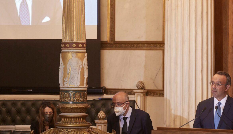 Διεθνές Βραβείο «Λόρδος Βύρων»: Η Προσφώνηση του Υπουργού Οικονομικών στον Charles Picket | 28.4.2021