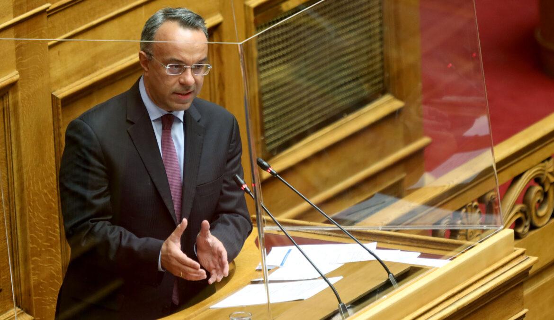 Ομιλία του Υπουργού Οικονομικών κ. Χρήστου Σταϊκούρα στην Ολομέλεια της Βουλής | 21.4.2021