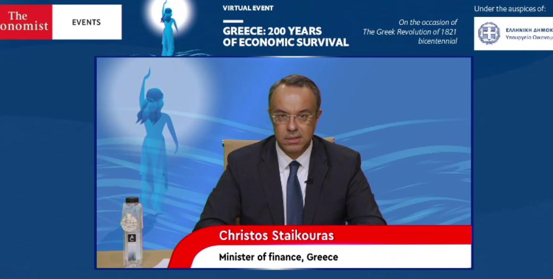 «200 Χρόνια Οικονομικής Επιβίωσης»: Ομιλία του Υπουργού Οικονομικών στο Συνέδριο του Economist | 8.4.2021