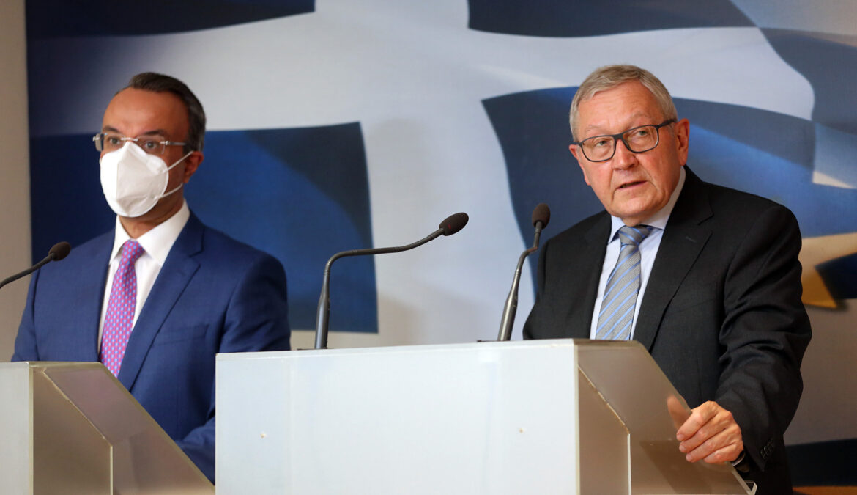 Τοποθέτηση του ΥπΟικ Χρ. Σταϊκούρα μετά τη συνάντησή του με τον Εκτ. Δ/ντή του ESM Klaus Regling | 12.5.2021