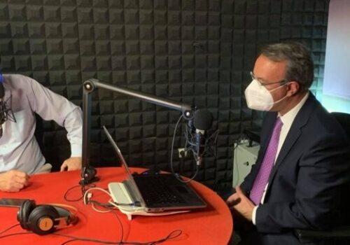 Συνέντευξη Υπουργού Οικονομικών στο ραδιοφωνικό σταθμό STATUS FM 107, 7 | 18.5.2021