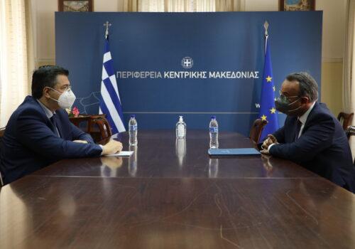 Στη Θεσσαλονίκη ο Υπουργός Οικονομικών (φωτογραφίες, video) | 19.5.2021